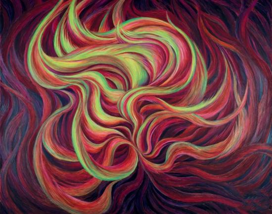 《W116》,布面油画,160*200cm,2018年