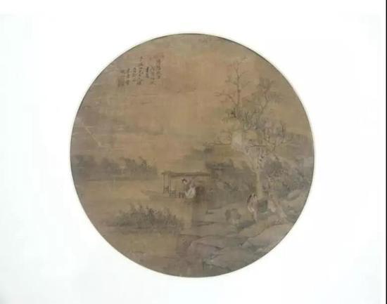 董观潮 山水 镜框 成交价:5500元