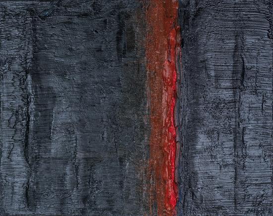 孙立军《路》60cm*80cm 油画