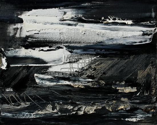 雲水故園 50x60c 布面油画