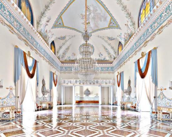 马西莫·李斯特里 卡波迪蒙特宫歌舞大厅 120x150cm 裱铝板(化学显影) 2013