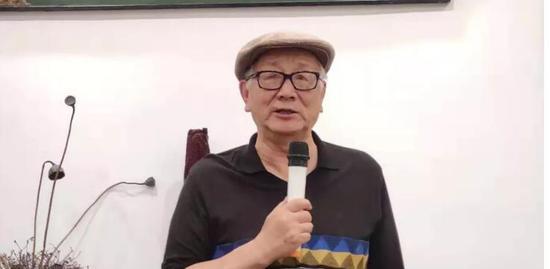 国防大学教授、艺术收藏家黄宏致辞