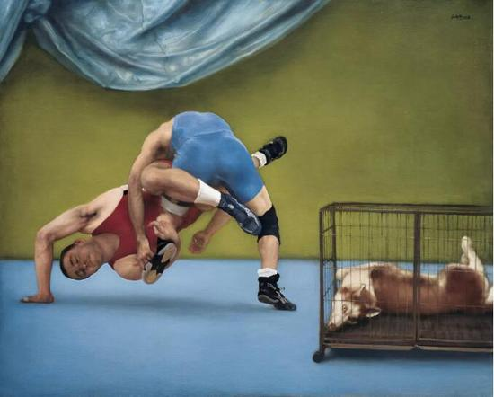 《巧合之一》布面油画 160cmx200cm 2009