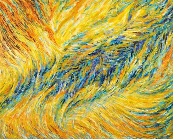 罡风 130cm*160cm 布面油画 2015