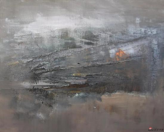 憂郁的風景 李青林 油畫