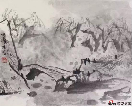 著名画家罗步臻作品捐赠仪式在上虞档案馆举行