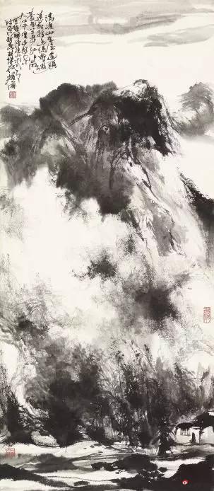 《一望大江开》 106cm×46cm   杨耀宁