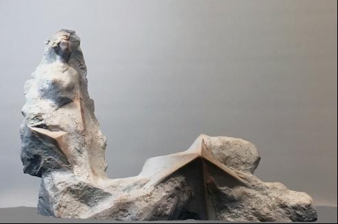 许正龙《裂变东方》综合材料50×33×54cm 2011年