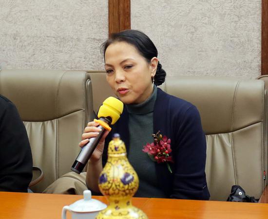 国际民间艺术组织(IOV) 全球副主席陈平
