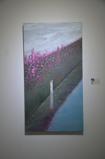 刘林魁 《118.77》布面油彩 70X130cm 2014