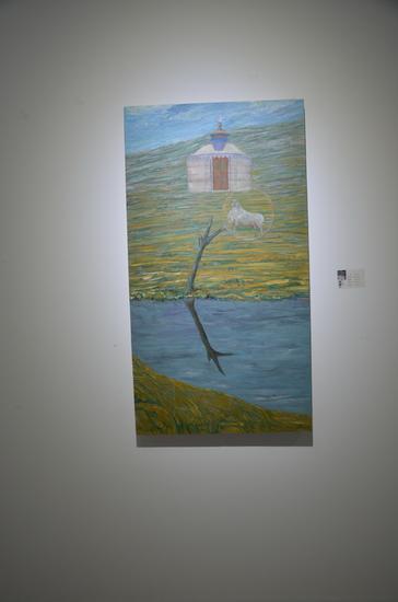 刘林魁 《我的家乡》70X130cm 2014
