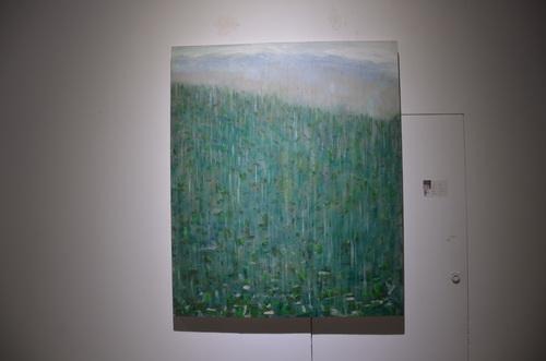 刘林魁 《春雨》布面油画 110X120cm 2014