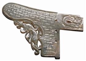 图8、西汉玉戈,狮子山楚王墓出土,徐州市博物馆藏%u3002_b
