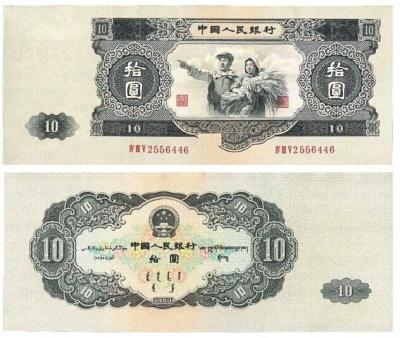 详述人民币集藏