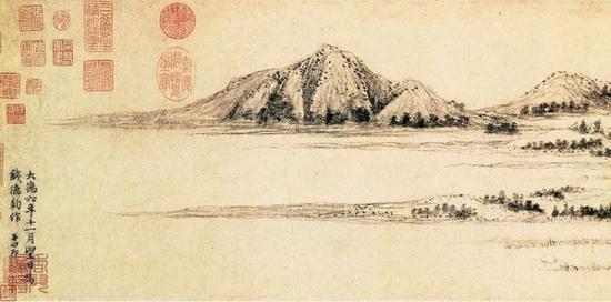 """第二点是赵孟頫提出了非常重要的""""书画同源""""图片"""