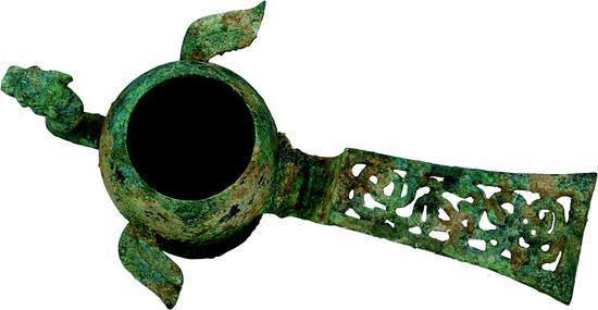 战国青铜鸟形杯2
