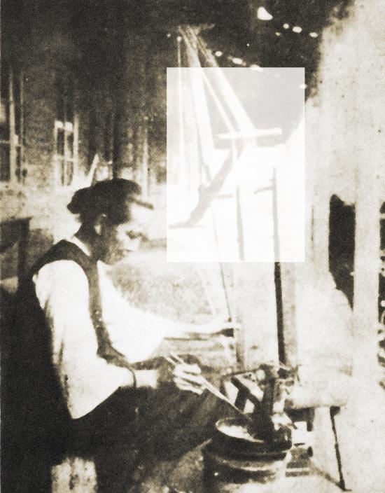 ■缫丝女工。本版由小榄镇志办和小榄图片社供图