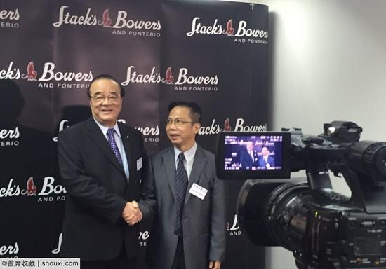福荣堂董事长周树堂(左)与SBP亚洲业务总监Nirat(右)共同出席发布会