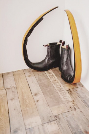 川久保玲走秀穿的鞋。