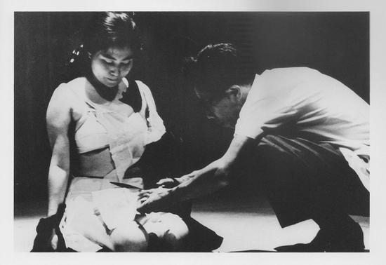 小野洋子,《切片》,1964