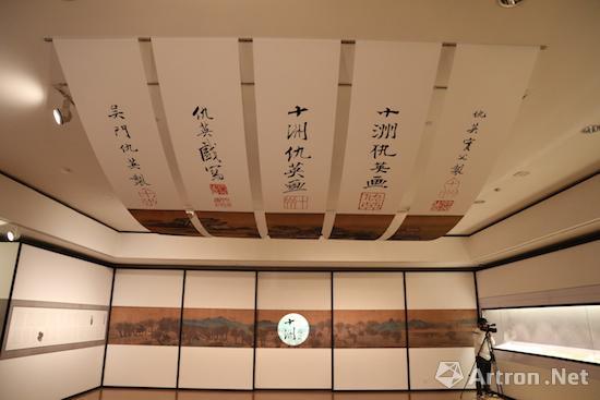 苏州博物馆举办的仇英特展现场