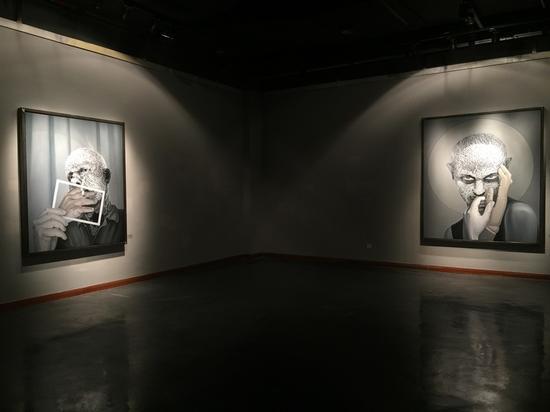 """""""生命体验的美学实践""""当代艺术展 罗杰作品"""