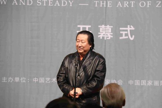 中国国家画院院长 杨晓阳致辞