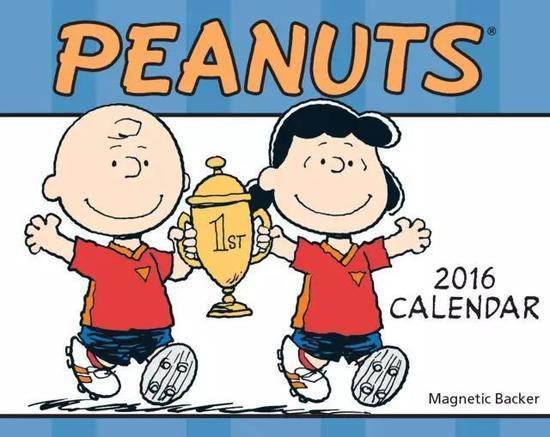 peanuts2016台历