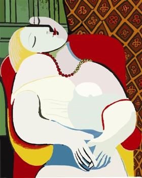 毕加索的《梦》