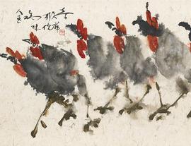 倪萍书画展走进温哥华中国文化中心