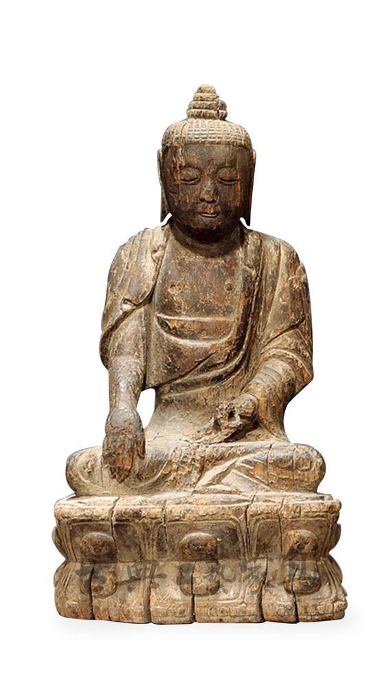 宋代的木雕佛像