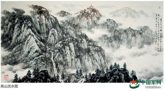 高山流水图