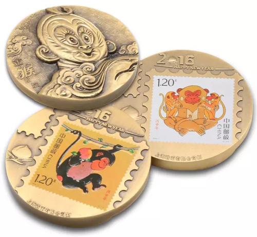 金猴献瑞大铜章