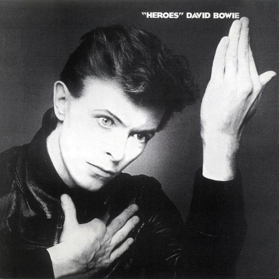 锄田正义为大卫·鲍伊《英雄》专辑设计的封面 图片:RCA。