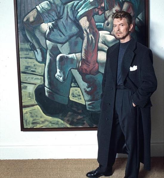 大卫·鲍伊与彼得·豪森的《克罗地亚人与穆斯林》(1994) 图片:Richard Young/Rex Features。