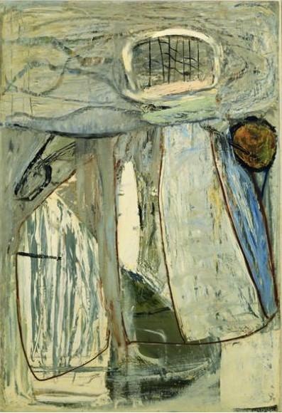 彼得·兰宁(Peter Lanyon),《近岸捕捞》( Inshore Fishing ,1952)彼得·兰宁(Peter Lanyon),《近岸捕捞》( Inshore Fishing ,1952)