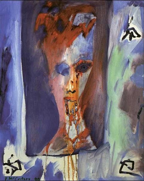 保罗·麦卡特尼,《呕吐的鲍伊》1990 图片:Paul McCartney。
