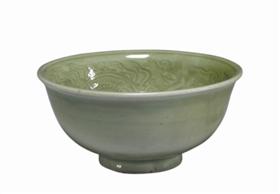 图2 台北故宫藏龙纹碗