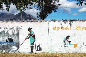 南非贫民区借当代艺术变身时尚一条街