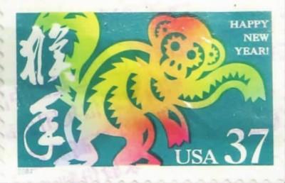 文化交流用邮票也可以  60个国家和地区猴票聚上海
