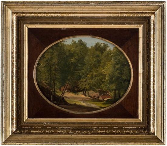 Lot 23风景画    桑弗德·罗宾逊·吉弗德(Sanford Robinson Gifford)(AMERICAN 1823-1880)