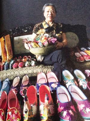 王冠琴和她的绣花鞋