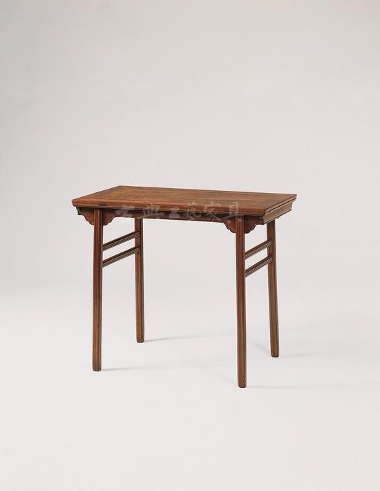 黄花梨折叠酒桌