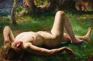 徐悲鸿(1895–1953)《梦中的维纳斯》,估价:4,000万至6,000万港元