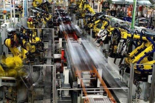 ▲ 德国大众汽车公司工厂的工业机器人