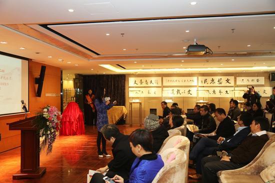 2016七彩云南书画茶玉惠民展览季启动仪式 活动现场1图片