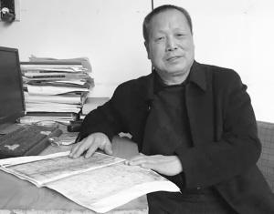 临漳县地方志主编黄浩长期从事曹魏文化研究工作。