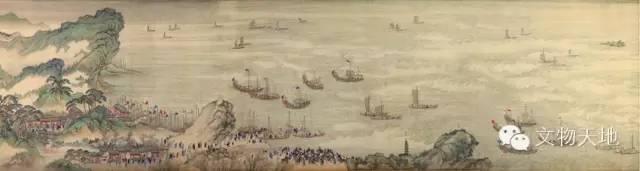2013年4月27日波利斯卡尤以336万欧元拍卖的《康熙南巡图》残本