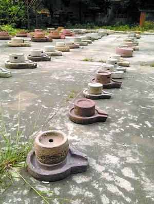 岭南地区以前使用的石磨