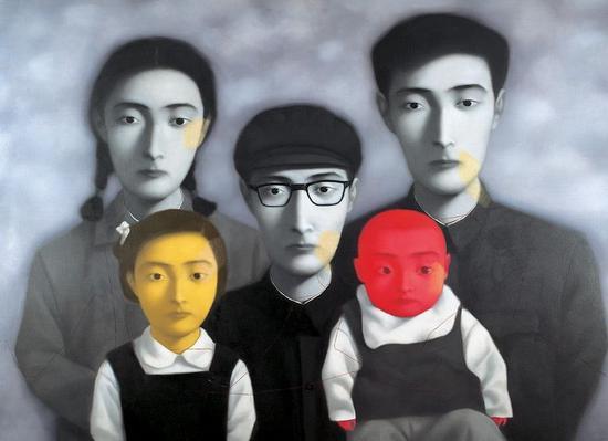 《大家庭》(张晓刚)